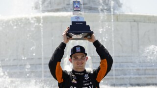 Pato O'Ward IndyCar Detroit Auto Racing