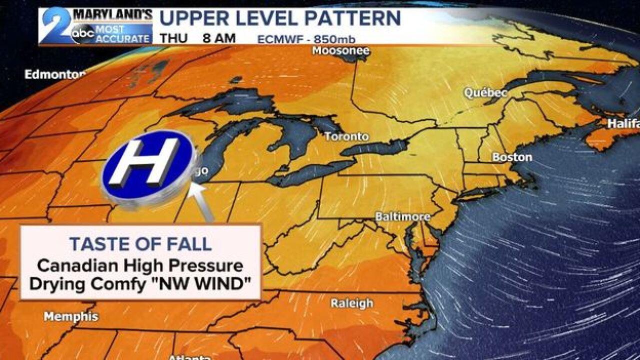 PATTERN CHANGES: Fall Taste This Week