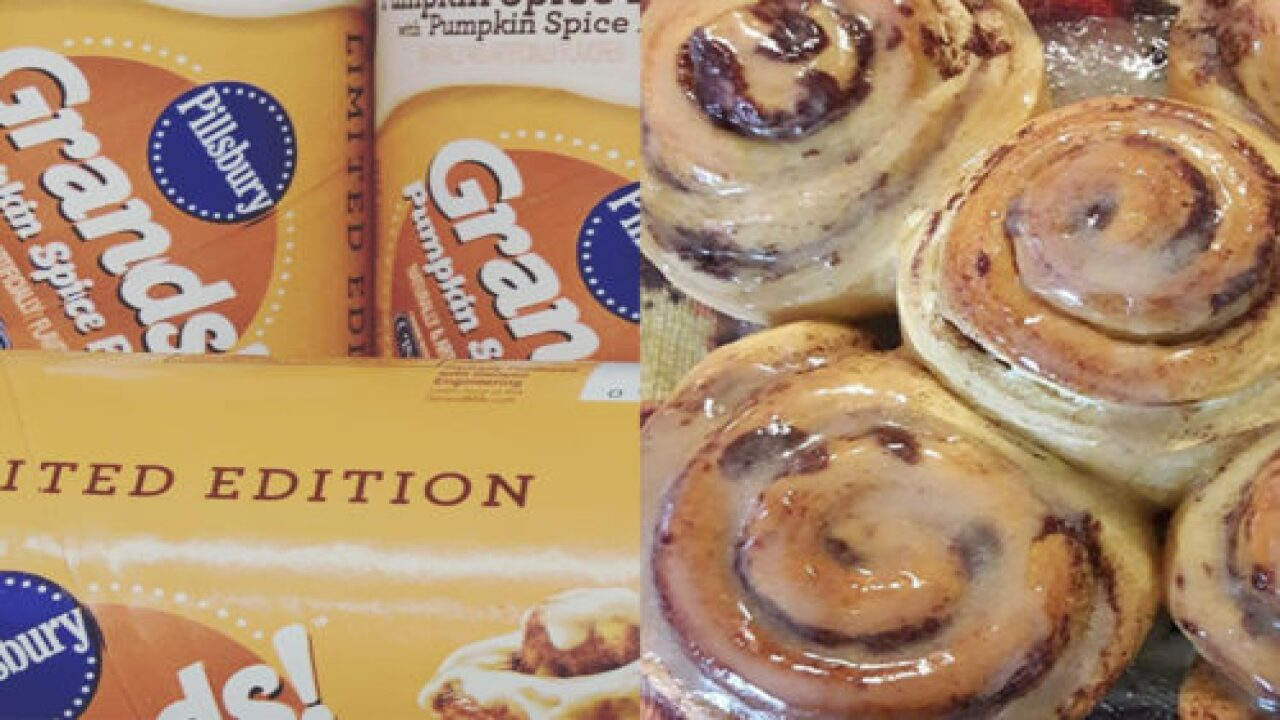 Pillsbury Pumpkin Spice Rolls Are Back To Get You In The Mood For Fall