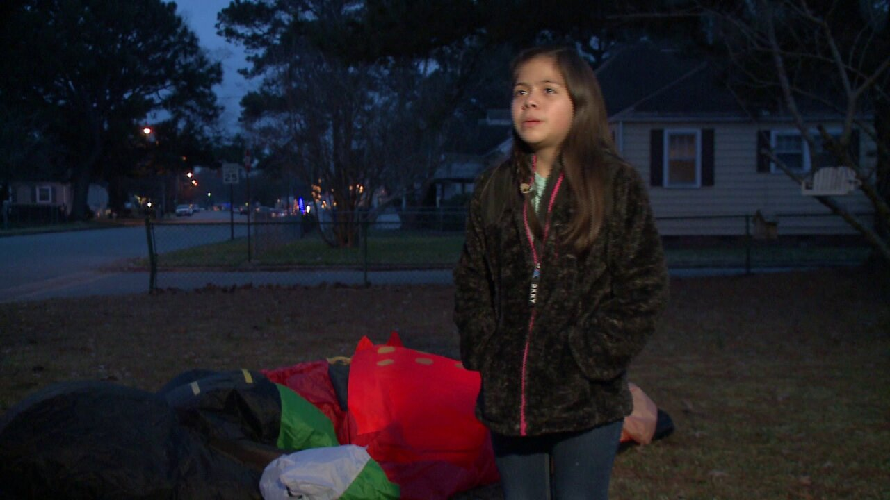 'Grinch' stabs Christmas inflatable in Portsmouth frontyard