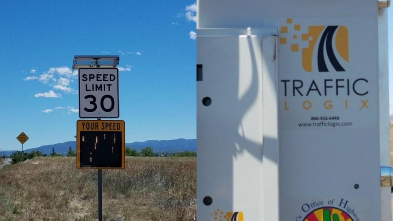 KNXV Prescott Valley Stolen Speed Sign.jpg