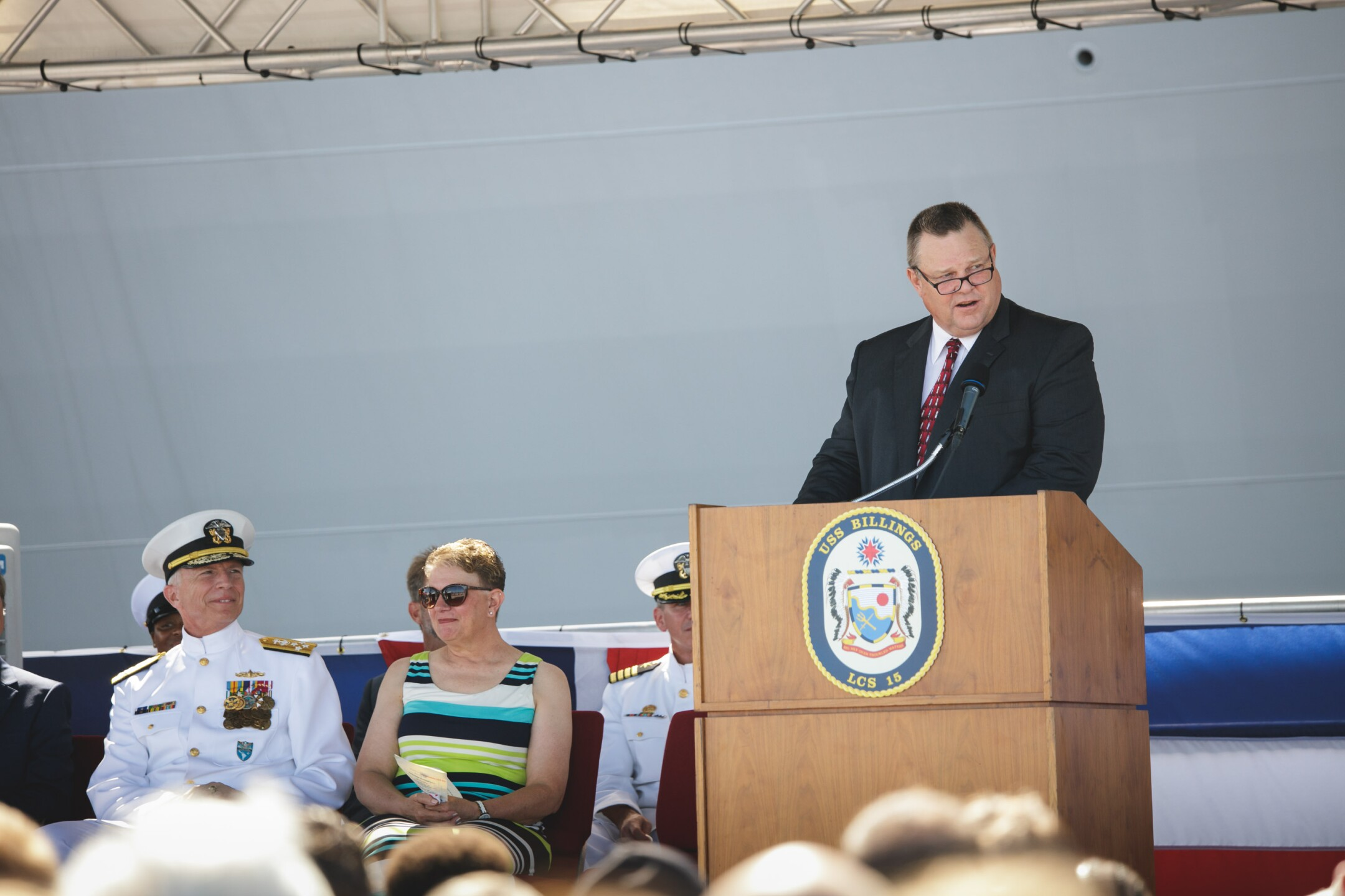 USS Billings Commissioning Ceremony in Key West Florida