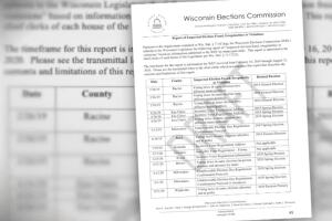 Wisconsin election officers: 'Do not try to vote twice'