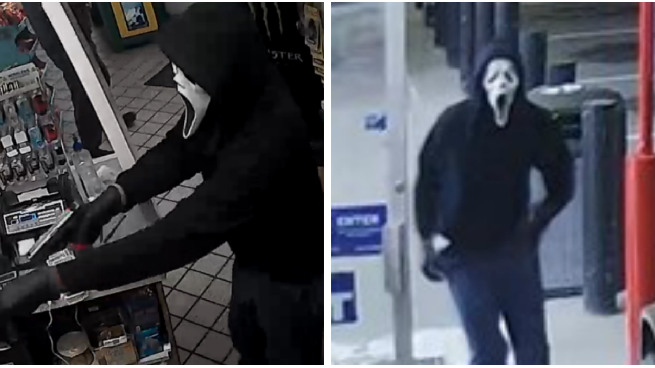 FBI: Armed and dangerous 'Scream Bandit' strikes again in Richmond, Henrico
