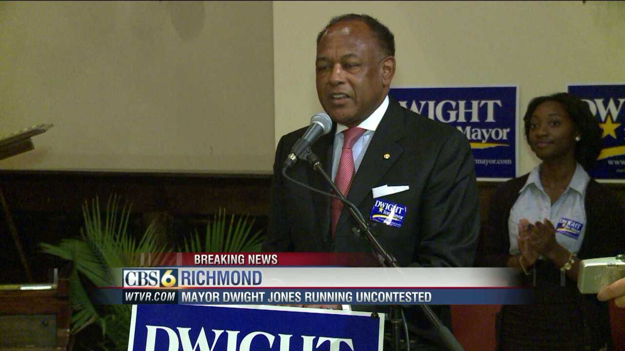 Mayor Dwight Jones to run uncontested