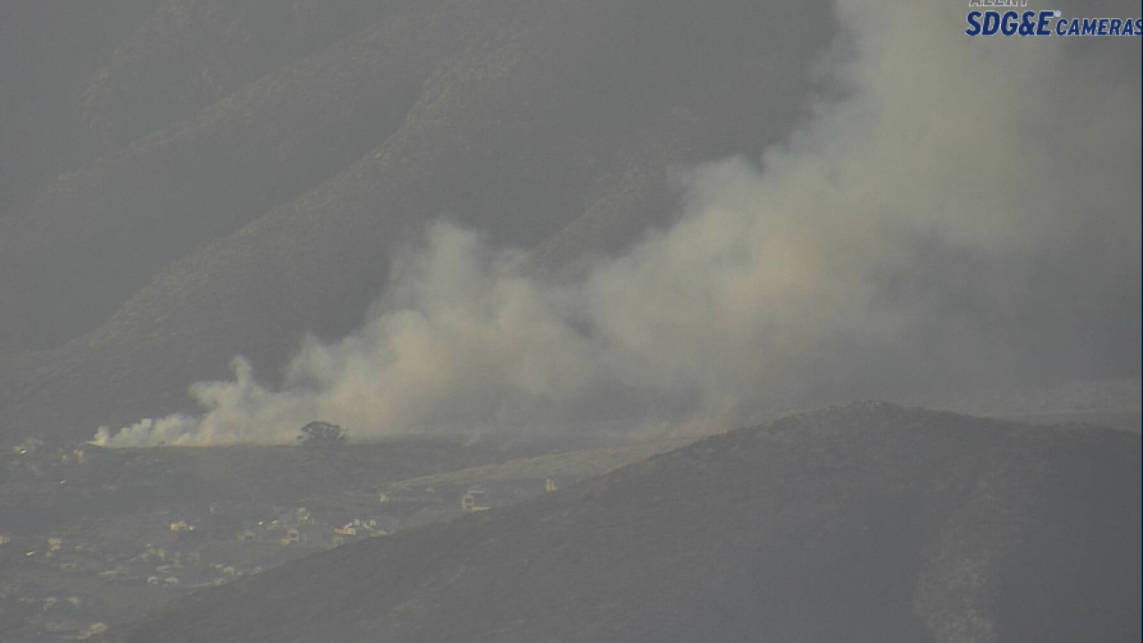 Chula Vista brush fire