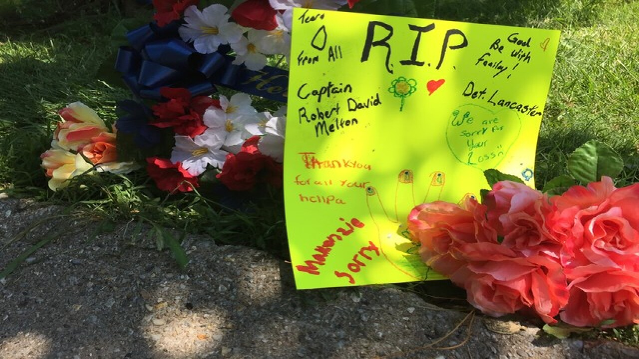 Community responds after police captain killed