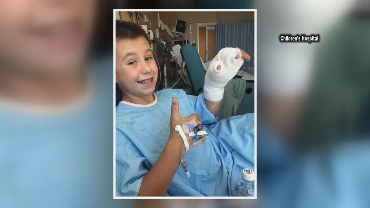 Boy bitten by rattlesnake recovers using telehealth appointments