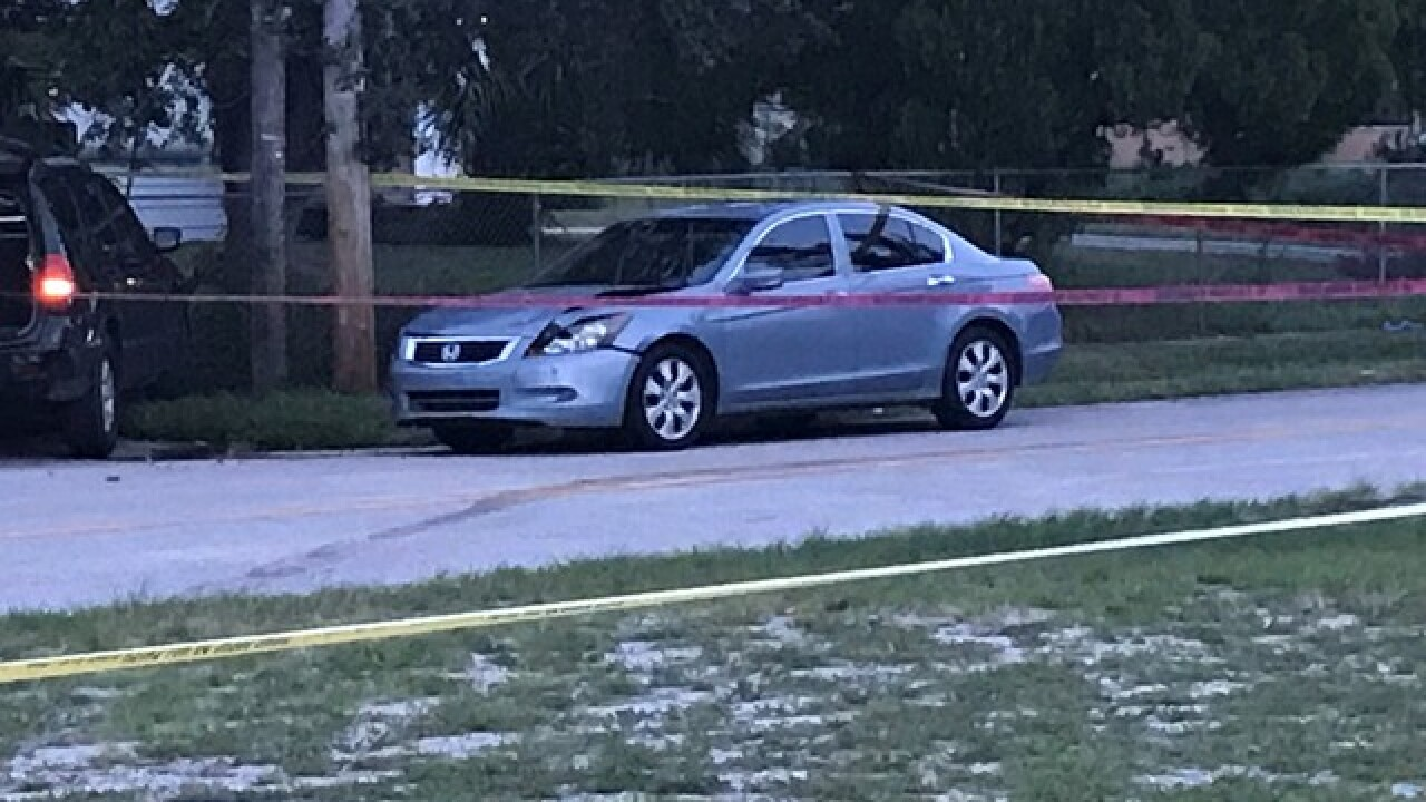 PBSO investigating shooting in WPB