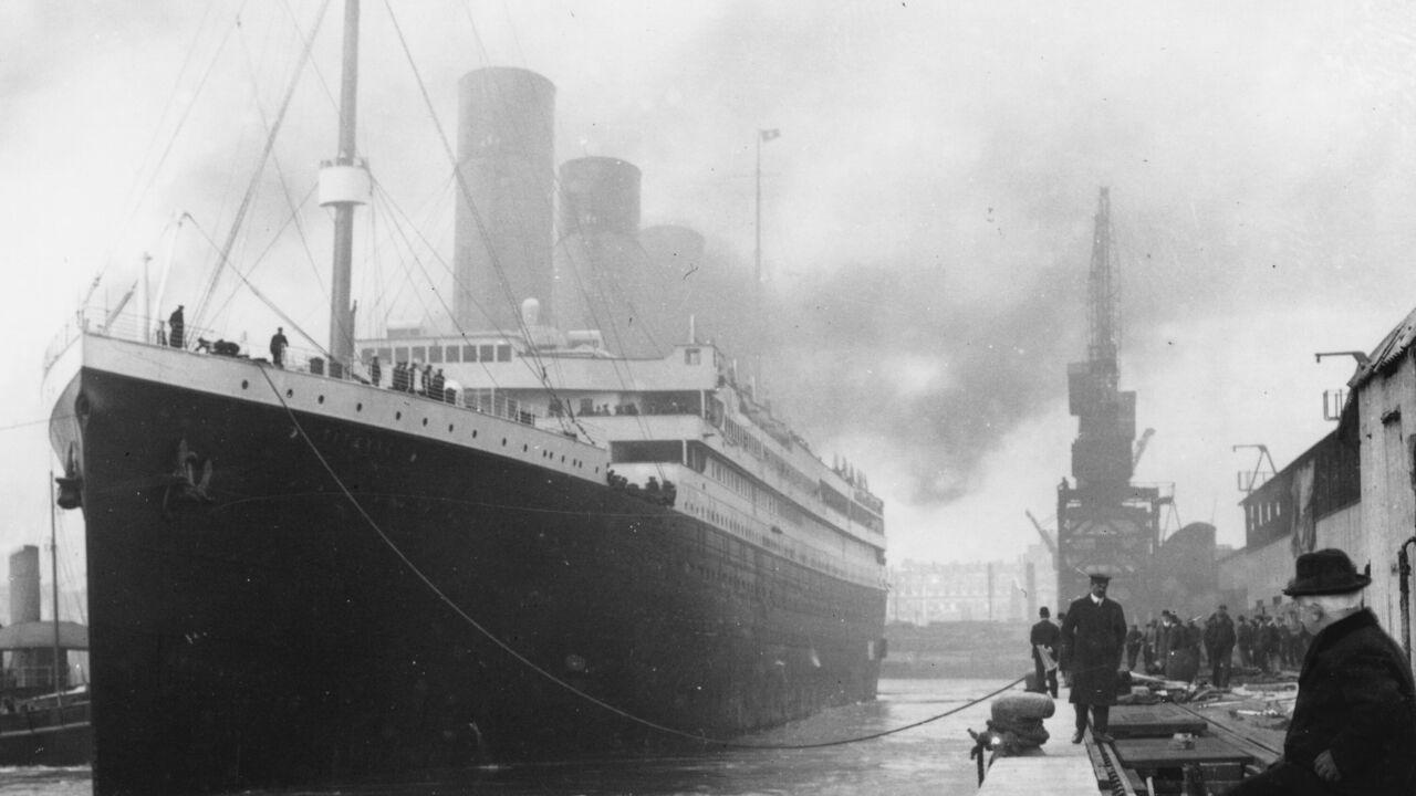 Titanic Exhibition handout