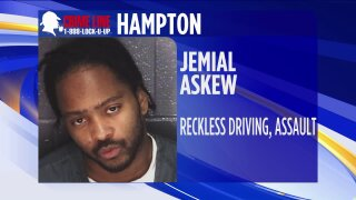 Taking Action Against Crime: Hampton Police looking for suspect wanted for assault, eluding police