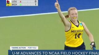 Michigan advances to NCAA field hockey national championship