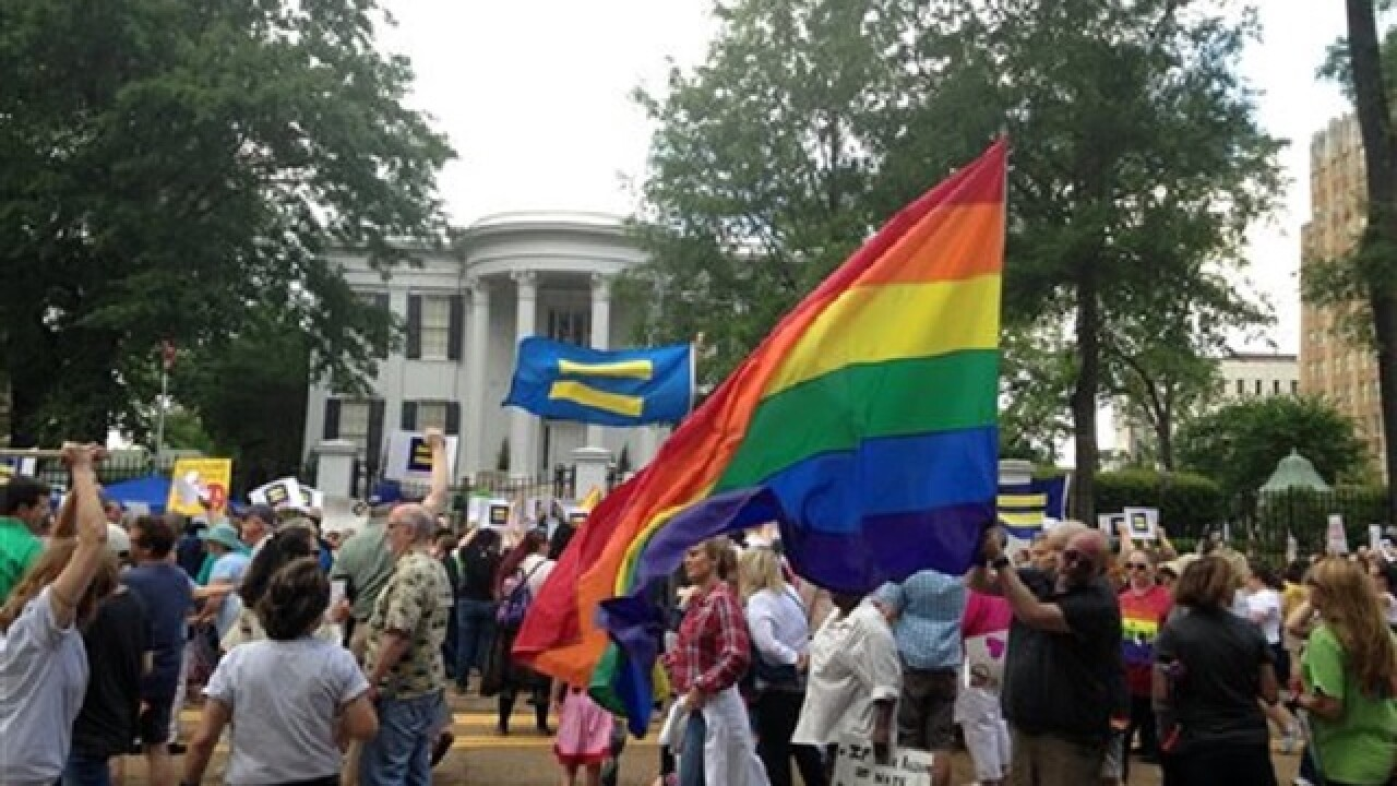 LGBT rights protesters vow to keep fighting controversial Miss. law