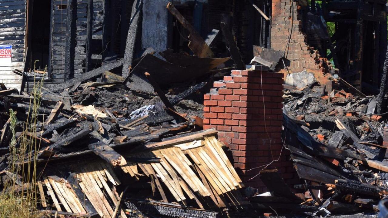 Fatal arson fire in Mansfield