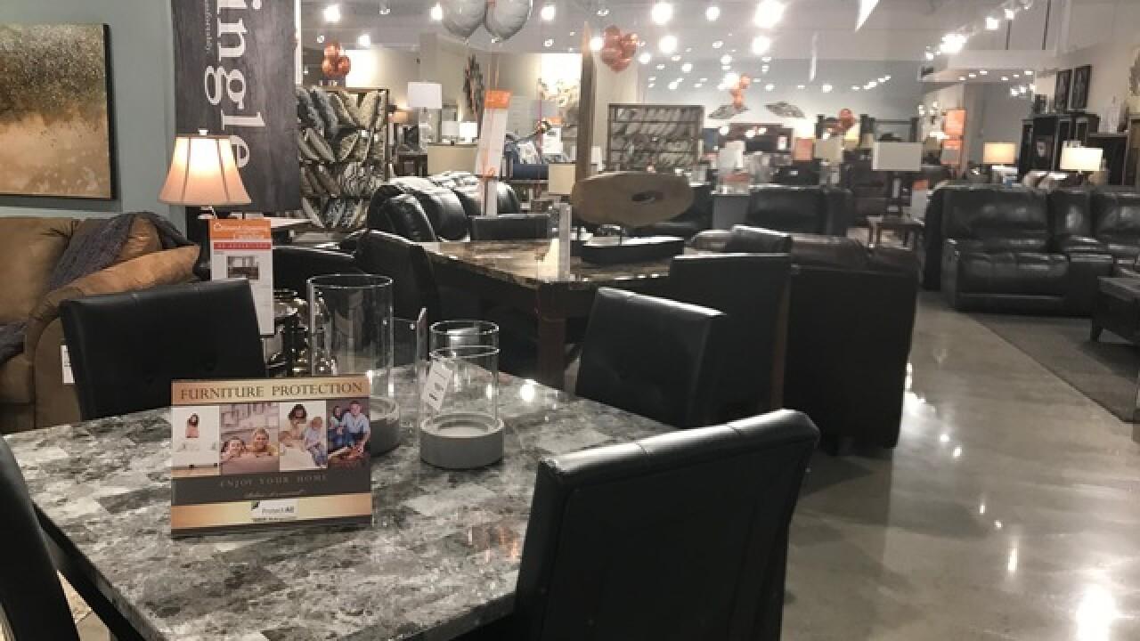 Ashley Homestore Celebrates Grand Opening Of New Lansing Location