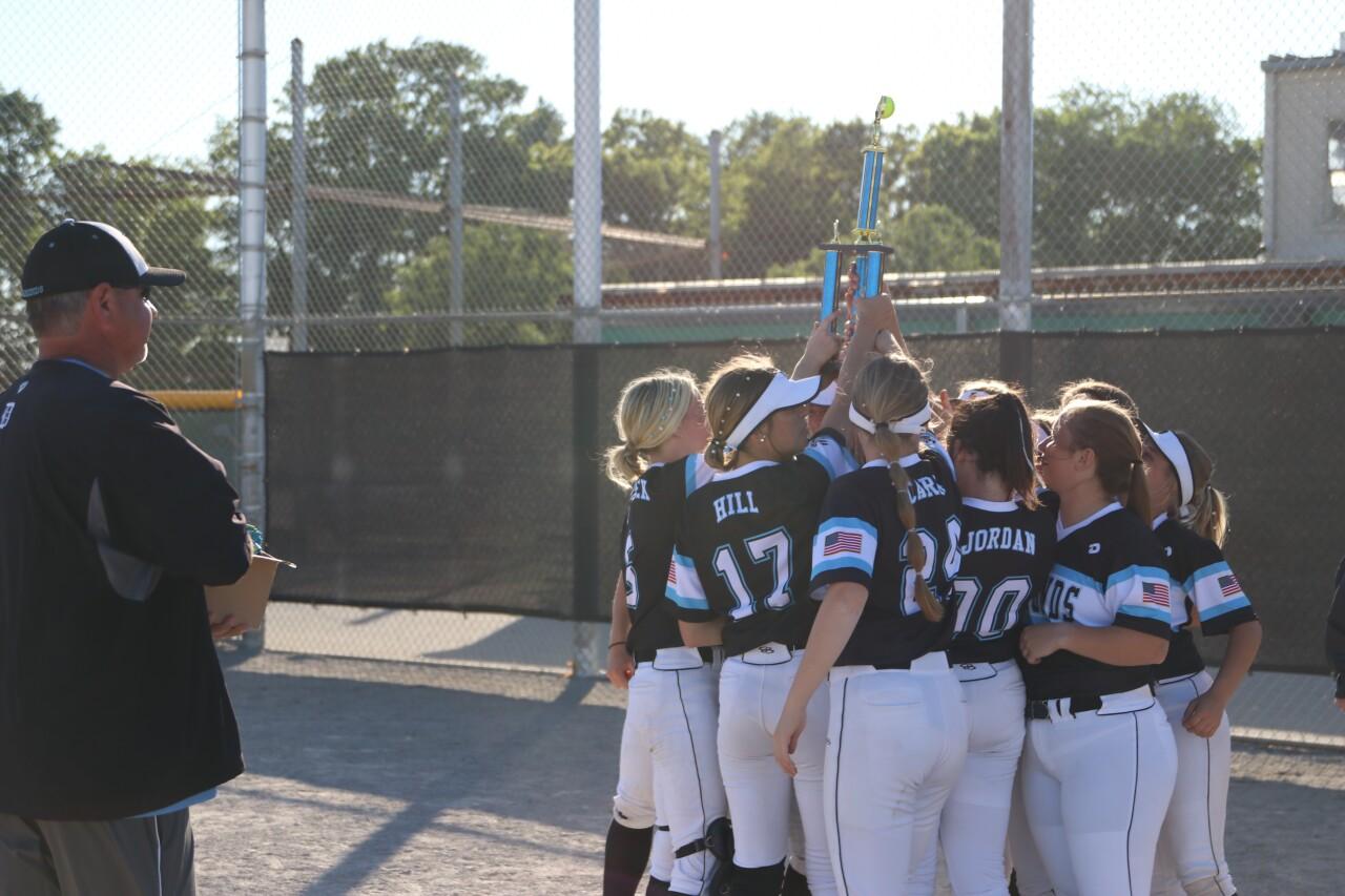 Michaela Castle youth softball.