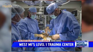 Medical Moment: Spectrum Health's Trauma Center
