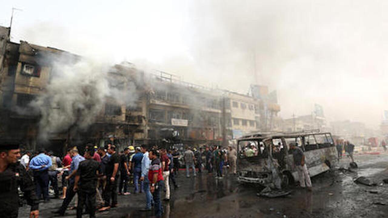 Two suicide attacks hit Baghdad