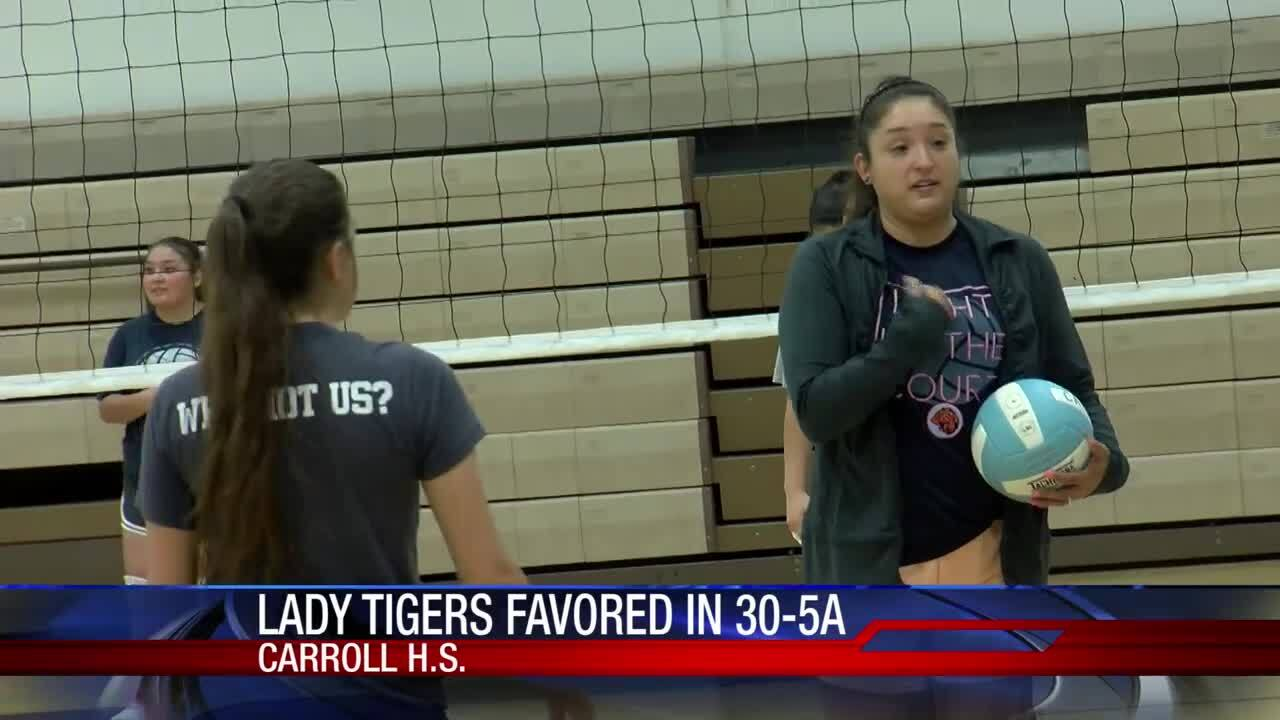 Carroll High School is poised for big things as volleyball practices across the Coastal Bend.
