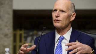 Sen. Rick Scott in February 2021