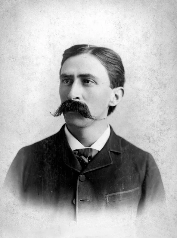A photo of the man considered the first Mexican to live in Wisconsin, Raphael Baez. Photo Courtesy of the Milwaukee County Historical Society