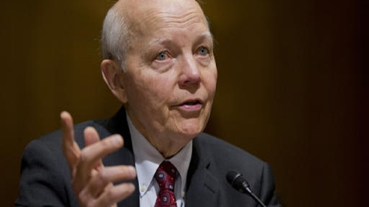 Deal averts vote on impeaching head of IRS