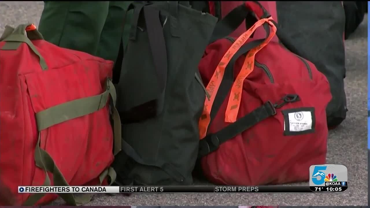 Colorado firefighters heading to Canada