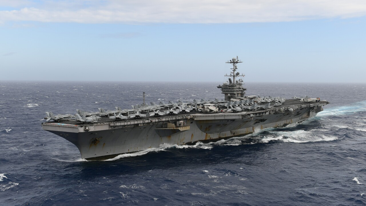Kaine: Withholding money for USS Truman refueling 'reversible'