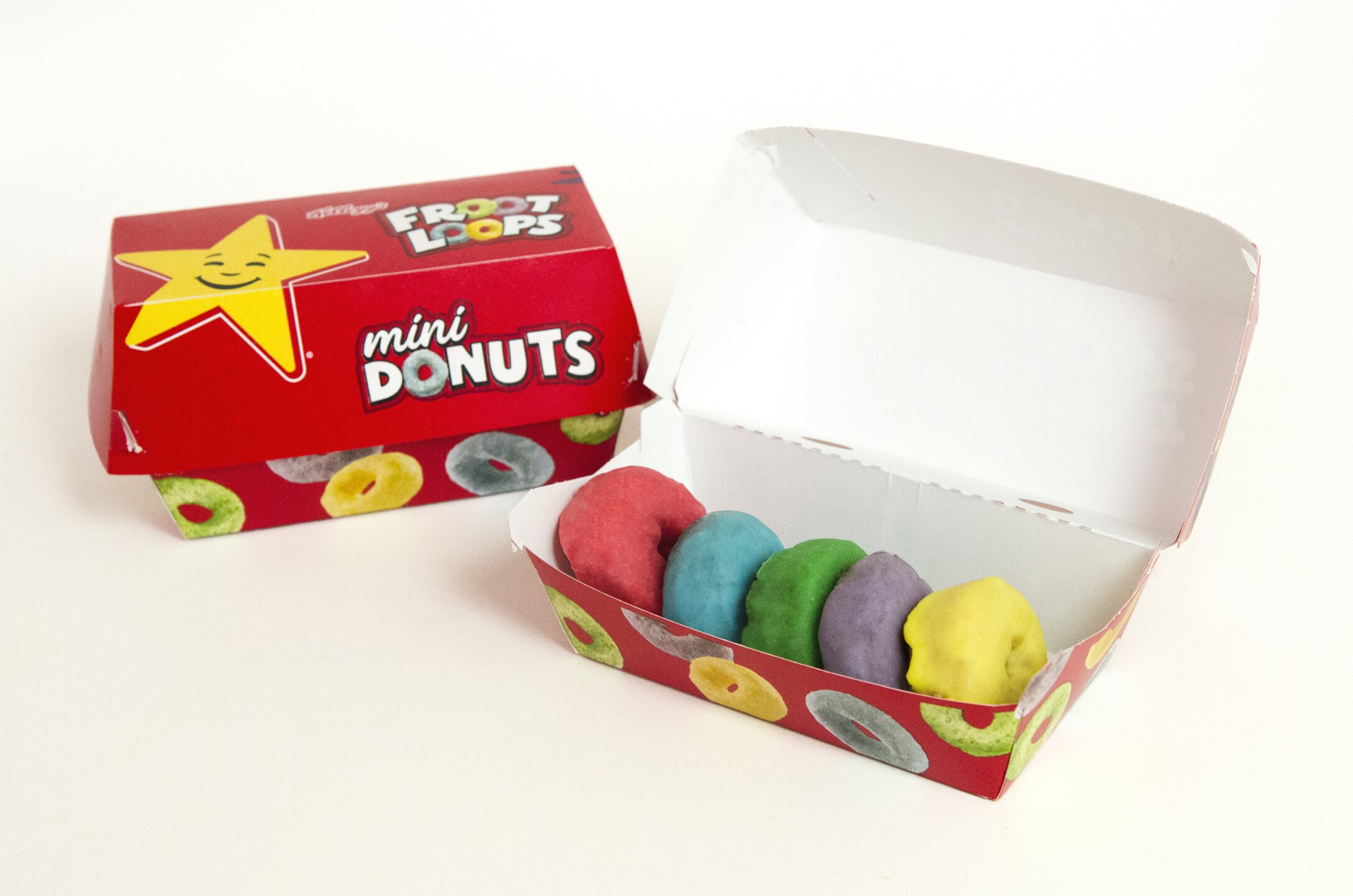 Photos: Hardee's launches new Froot Loopsdonuts