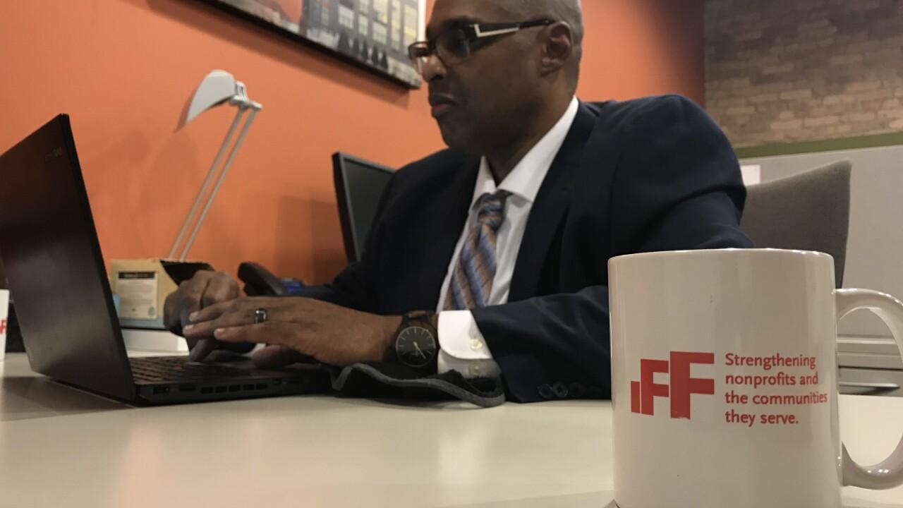 Darian Luckett with IFF