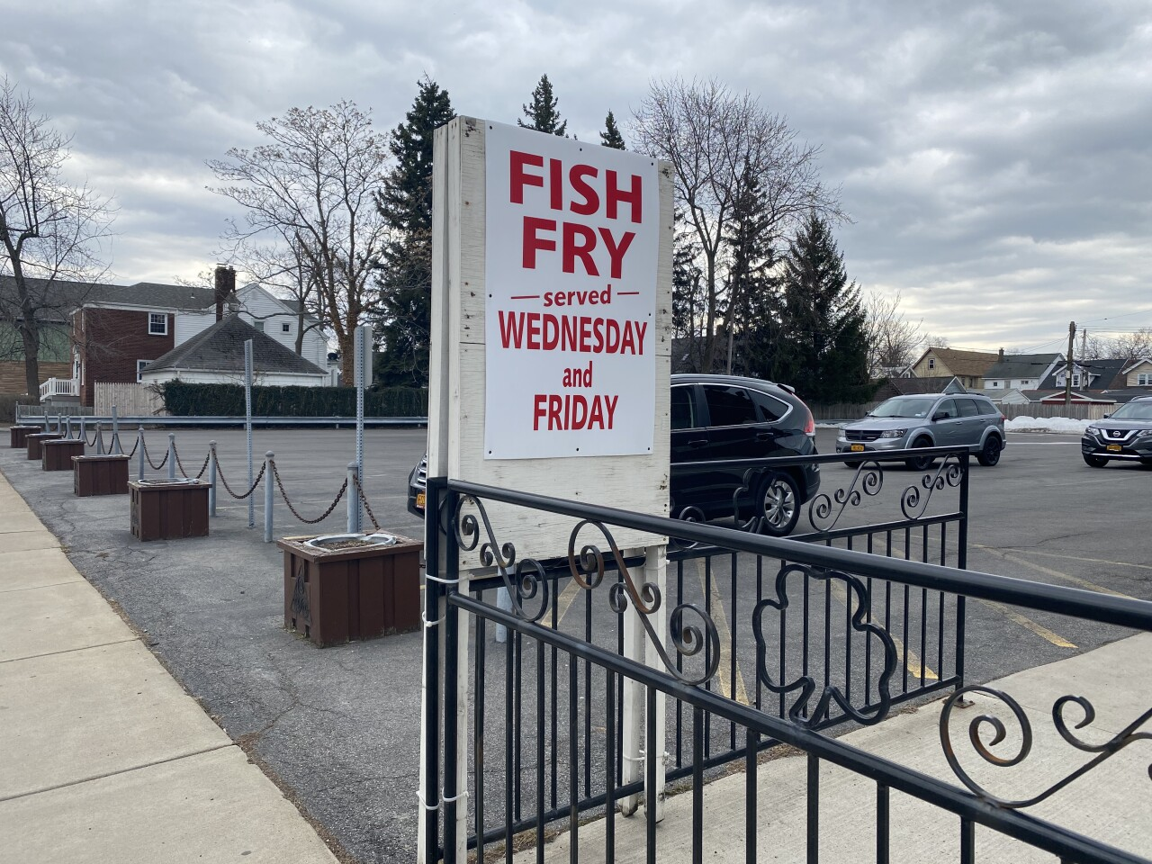 St. Patty's day falls on a Fish Fry day at the Buffalo Irish Center this year