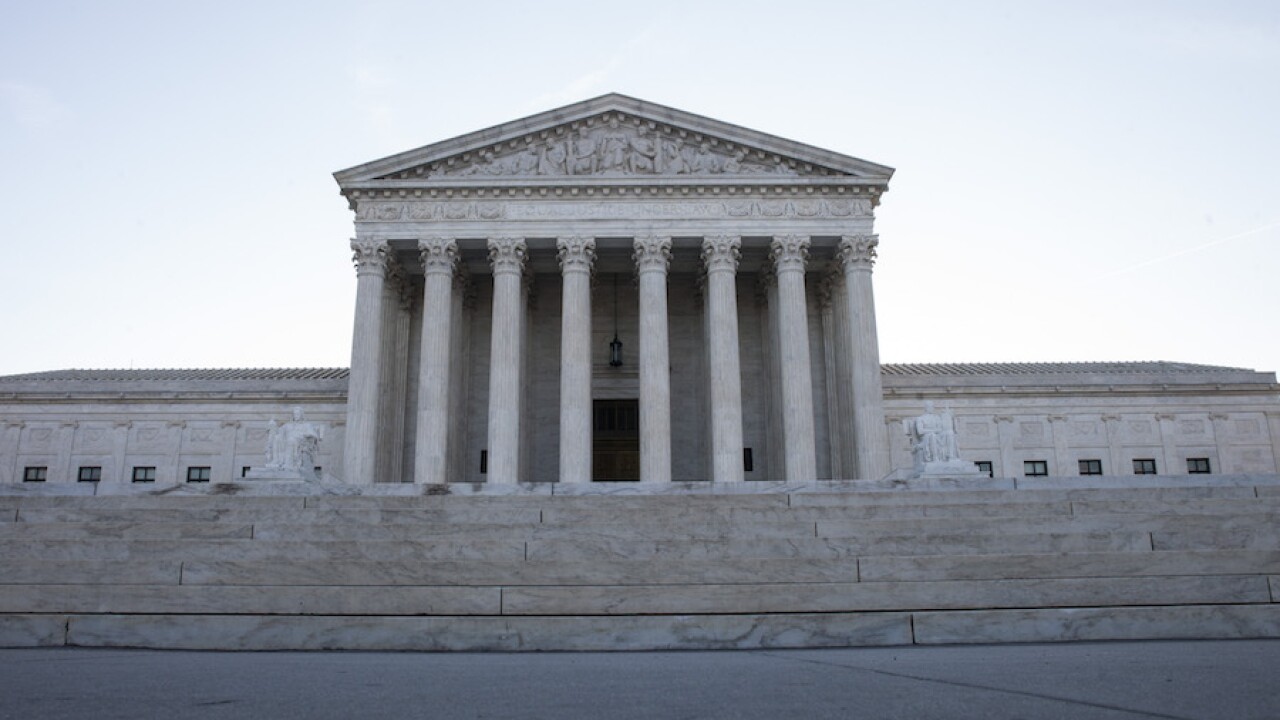 Suspicious package closes roads new Supreme Court building in Washington, reports say
