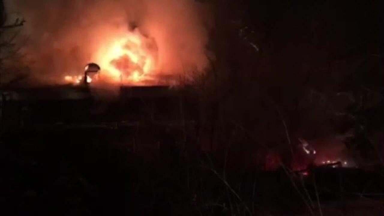 Suspected Firestone mansion arsonist in custody
