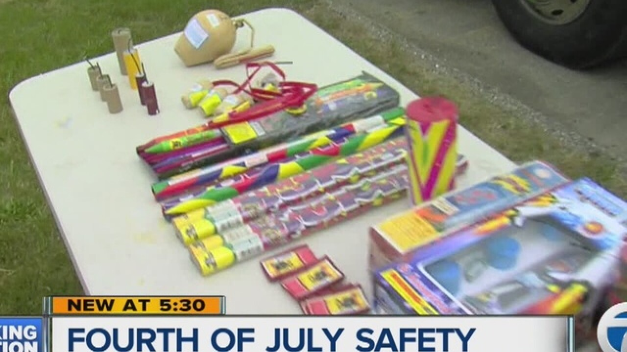 Warren Mayor Fouts cracking down on fireworks