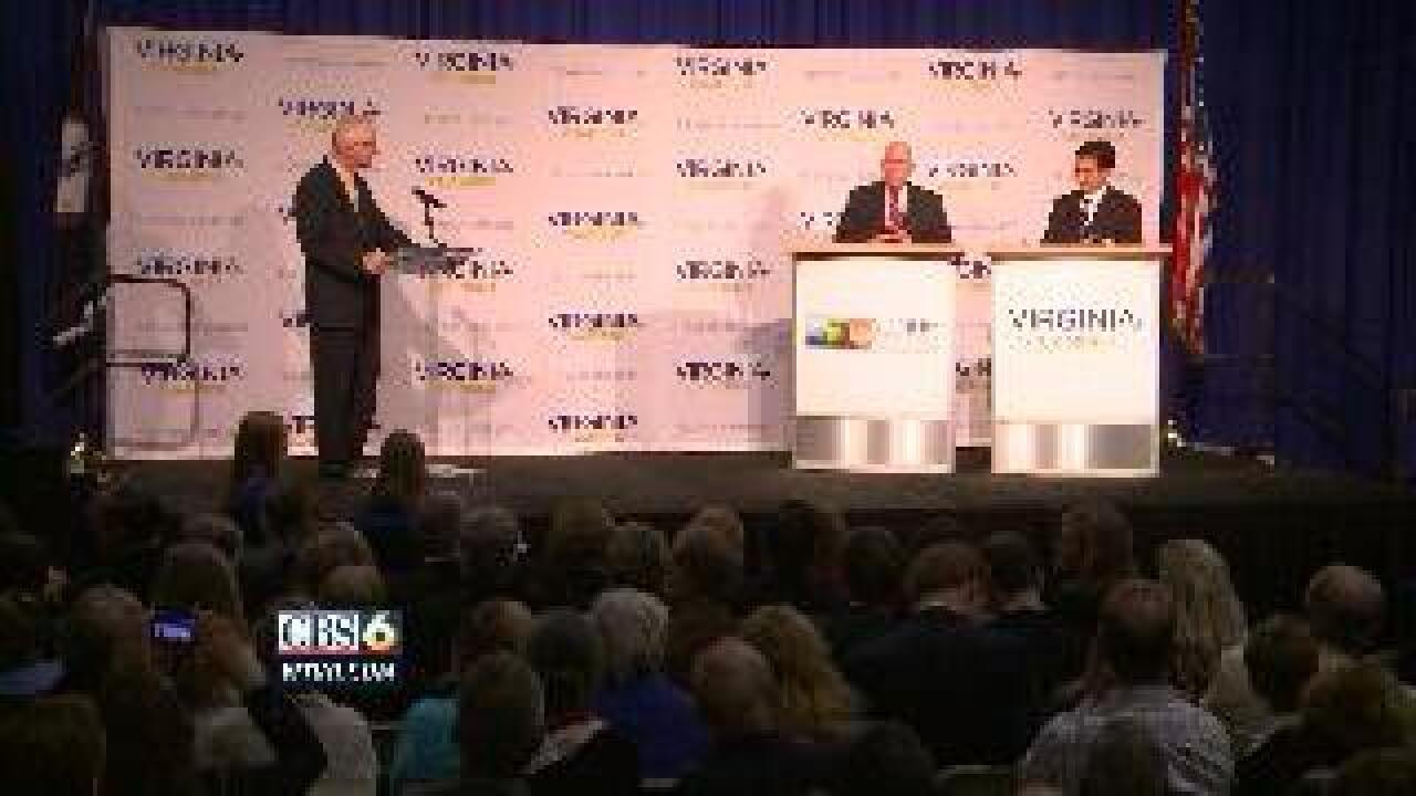 Lively debate between Cantor, and challenger Powell