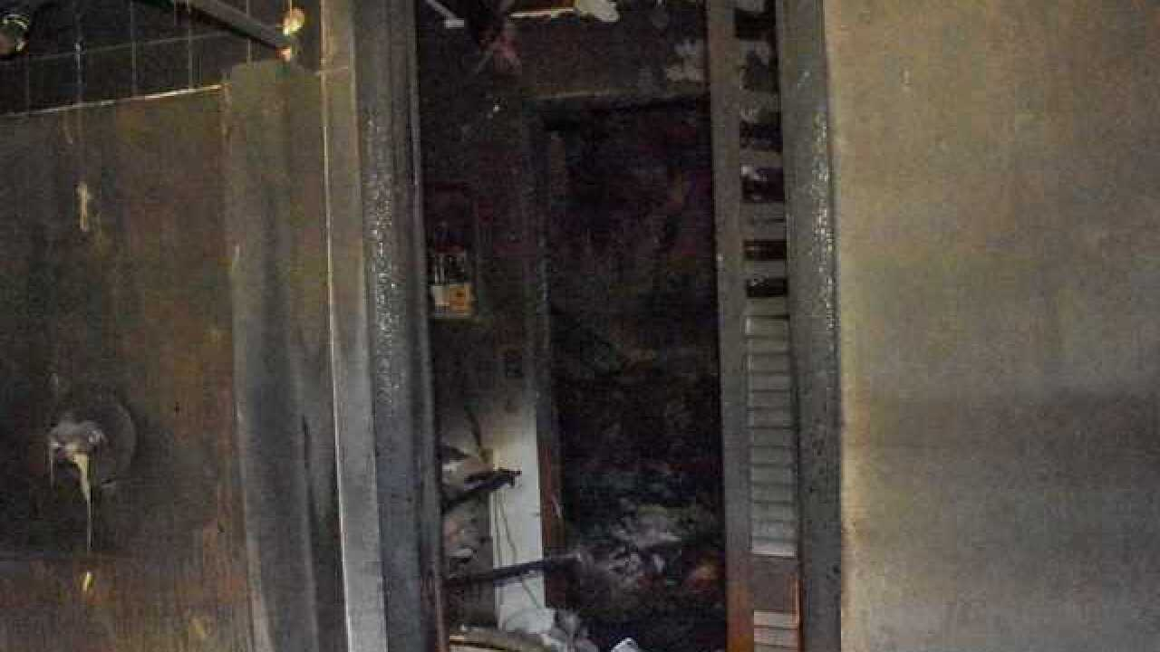 House damaged by fire in Port Charlotte