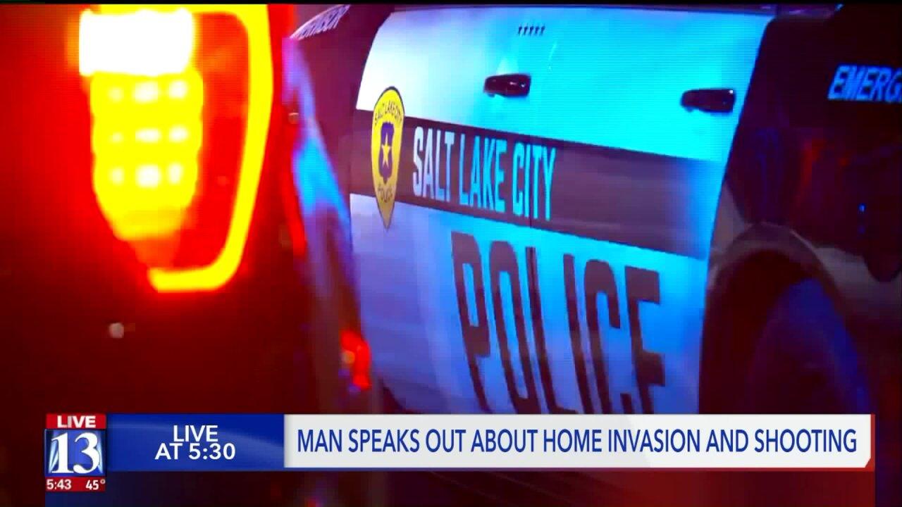 Utah man shot by men wearing clown masks says home invasion was targeting drugs,money
