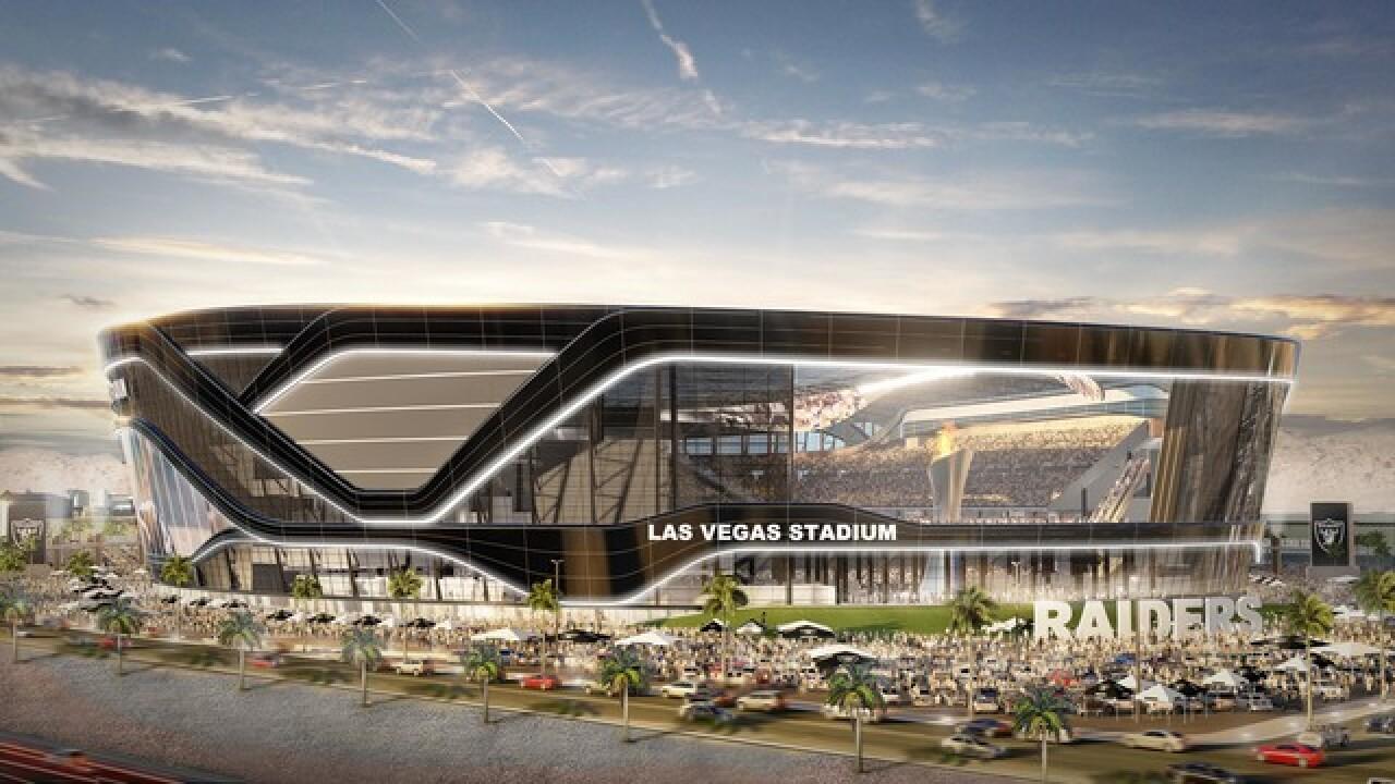 Le domicile des Raiders à Las Vegas