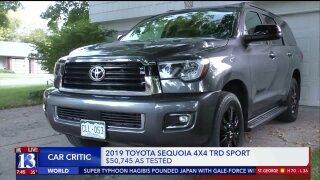 Car Critic: The big, advanced ToyotaSequoia