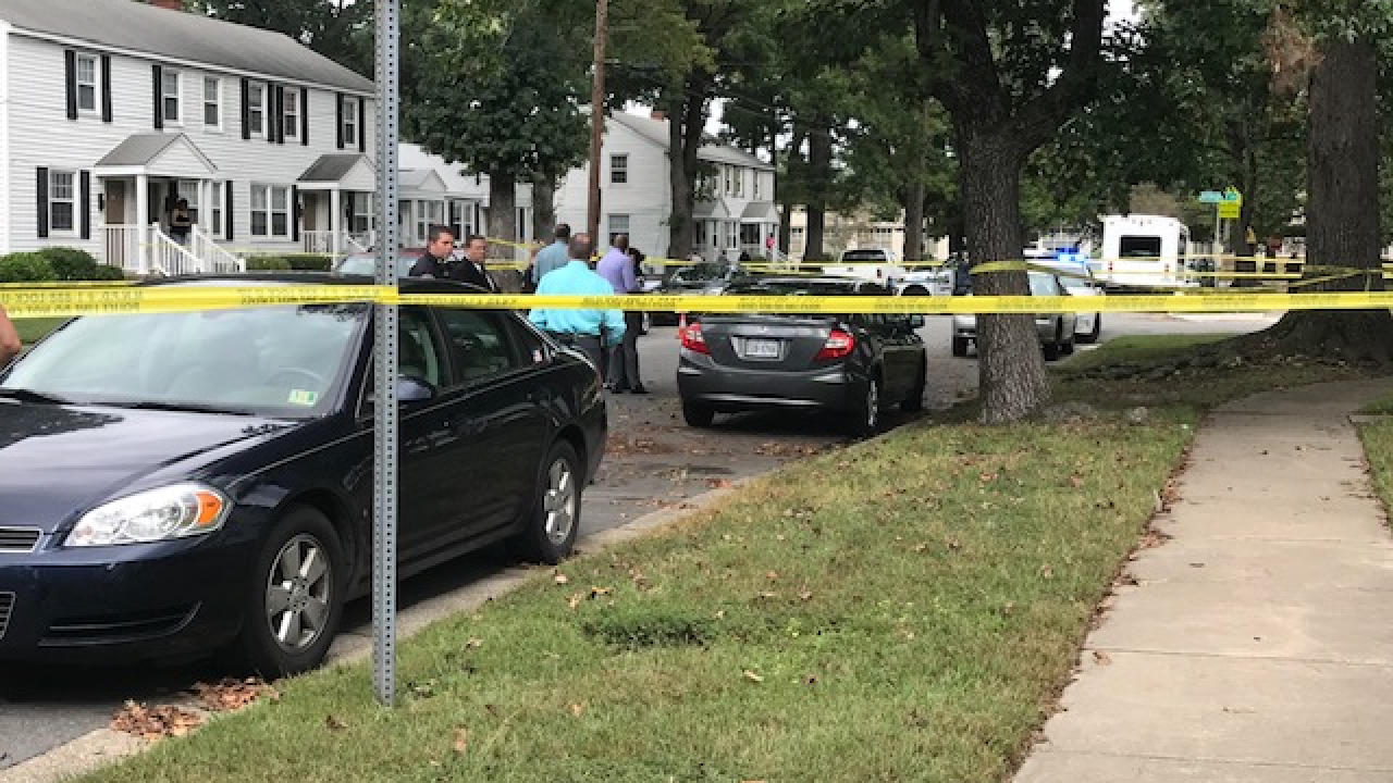Newport News Police Department open homicide investigation