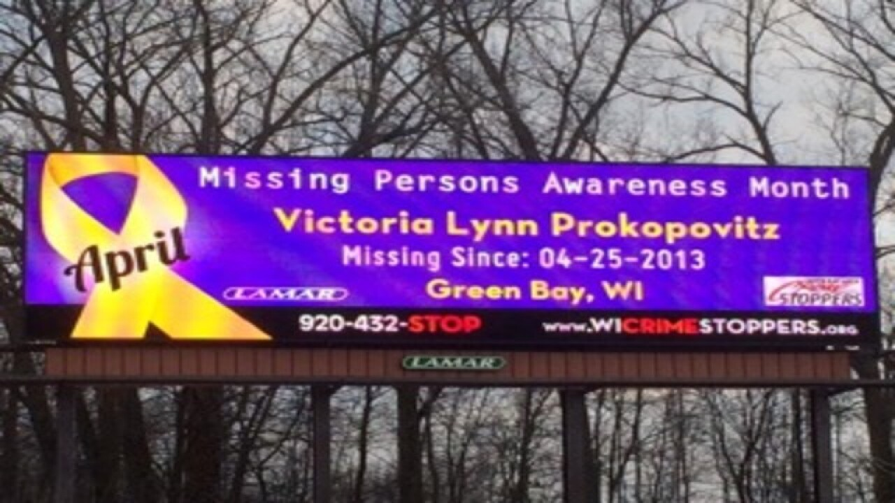 Billboards promote Missing Persons Awareness