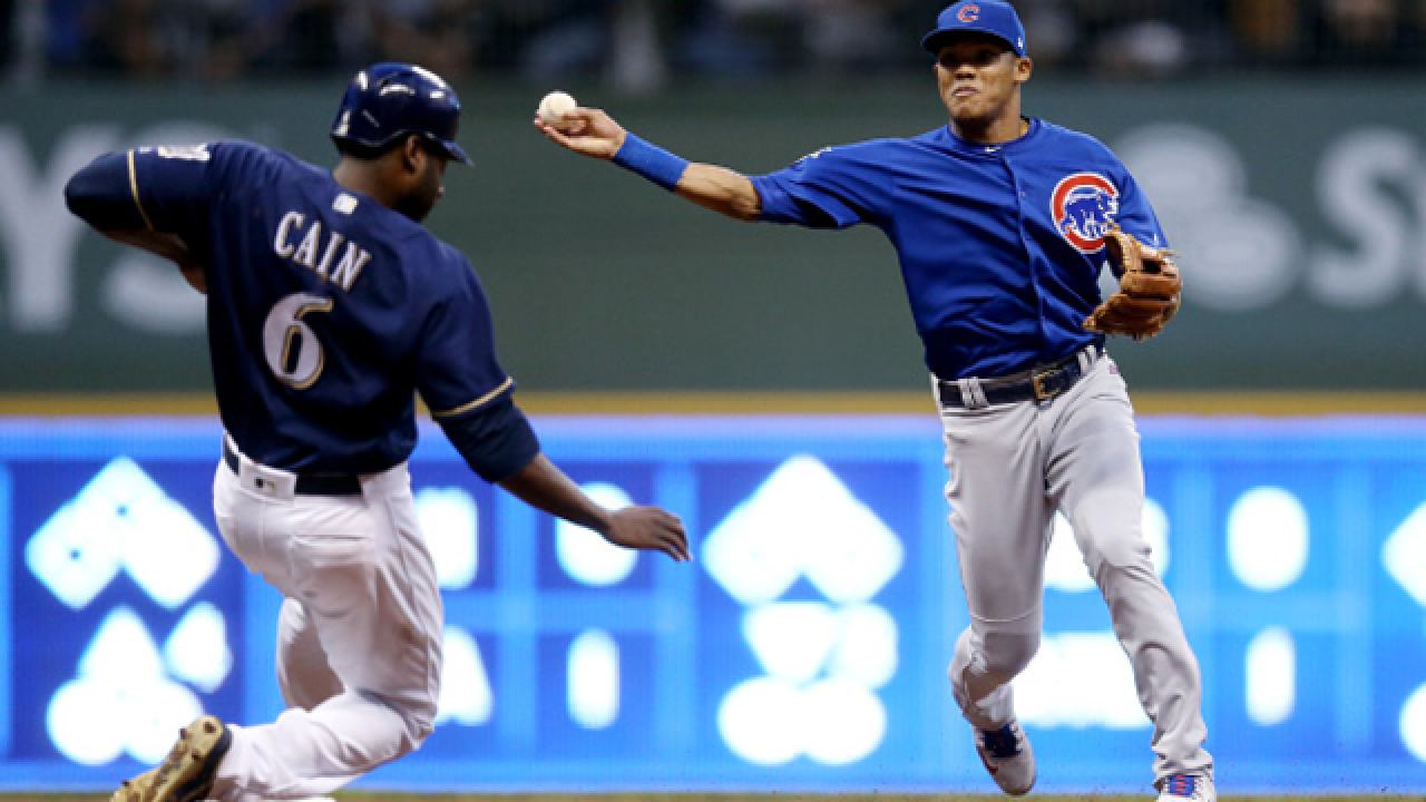 MLB places Cubs' Addison Russell on administrative leave for domestic abuse