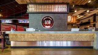 810 Billiards & Bowling_Sign & Host Desk