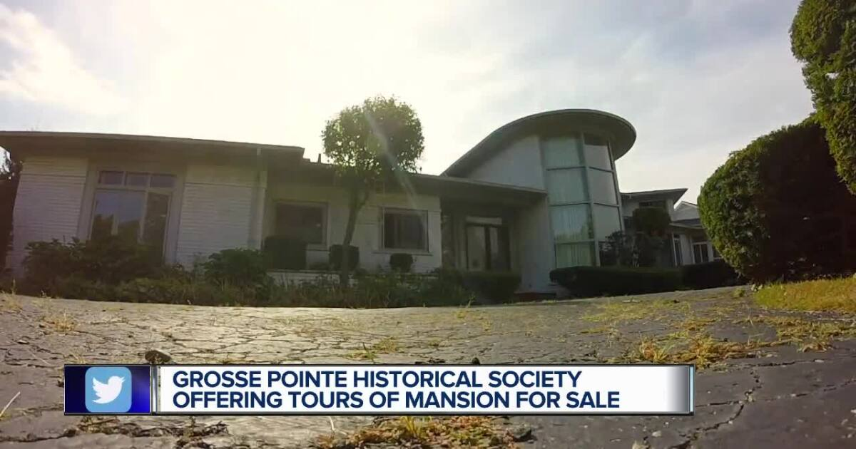 Stunning 1953 mid-century modern mansion hits the market