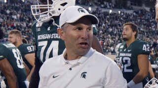Mike Tressel Indiana Michigan St Football