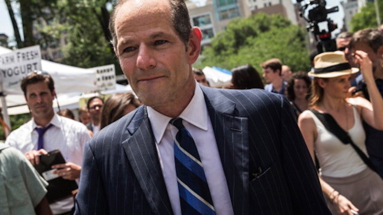 Police investigate assault claim against Spitzer