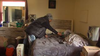 Burnet Avenue apartment residents speak out about eviction by former Bengals player, Chinedum Ndukwe's company