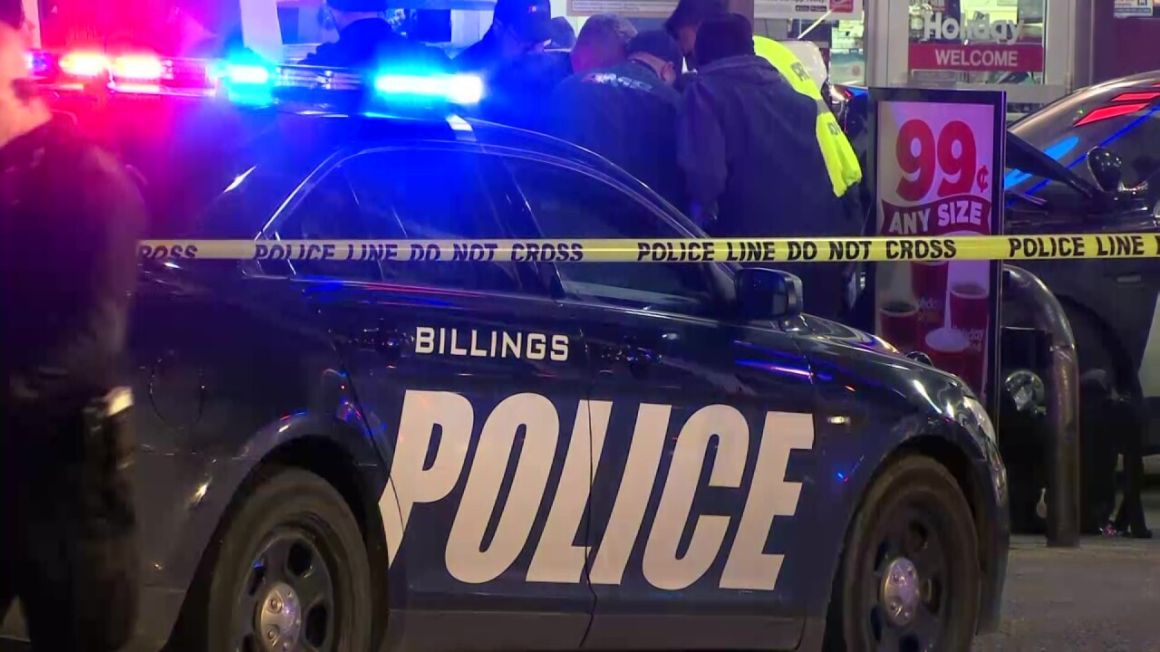 Billings man shot after crashing stolen pickup truck into police cars