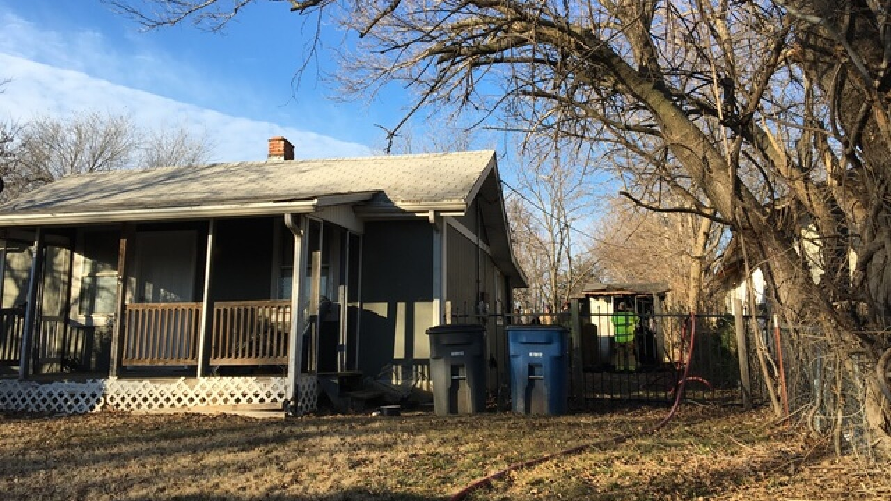 TFD names two who died in shed fire