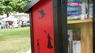 "Martinsville adds new ""Little Free Library"" to downtown"